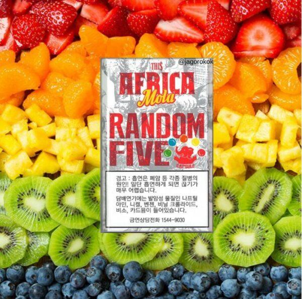 บุหรี่เกาหลี Africa Mola Random Five