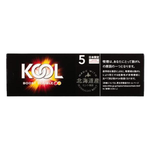 บุหรี่ญี่ปุ่น KOOL BOOST DOUBLE 5 BOX