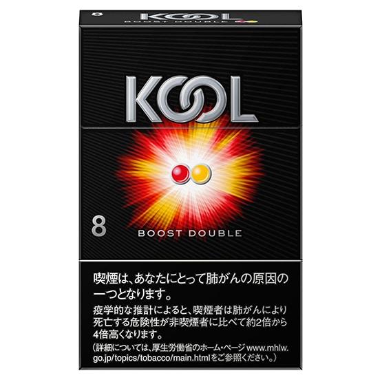 บุหรี่ญี่ปุ่น KOOL BOOST DOUBLE 8