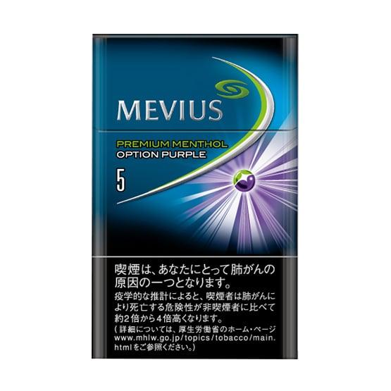 MEVIUS PREMIUM MENTHOL OPTION PURPLE 5