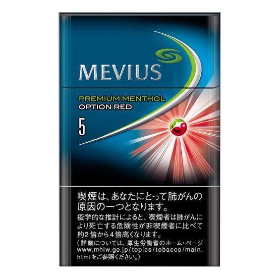 บุหรี่ MEVIUS PREMIUM MENTHOL OPTION RED ・5