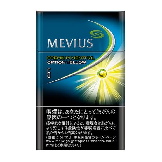 MEVIUS PUREMIUM MENTHOL OPTION YELLOW 5