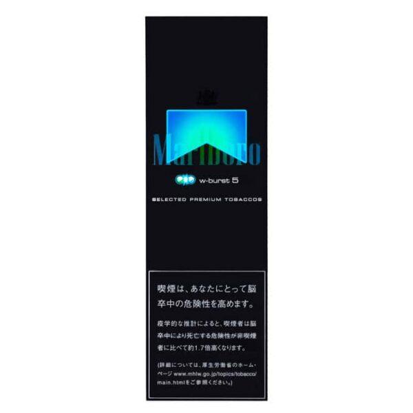 บุหรี่ญี่ปุ่น Marlboro W-BURST 5 หน้า