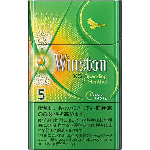 บุหรี่ญี่ปุ่น Winston sparkling menthol 5