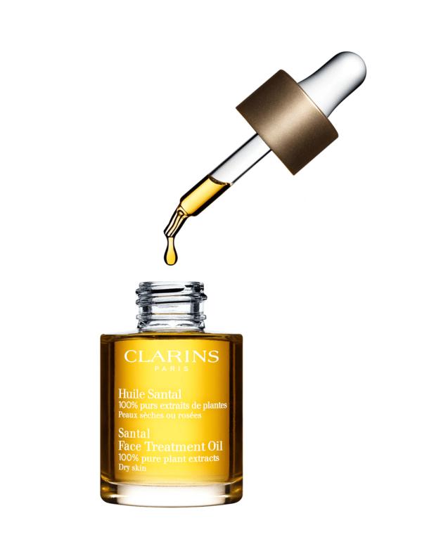 CLARINS Santal Face Treatment Oil 30ml คาแรง ออยบำรุงหน้า