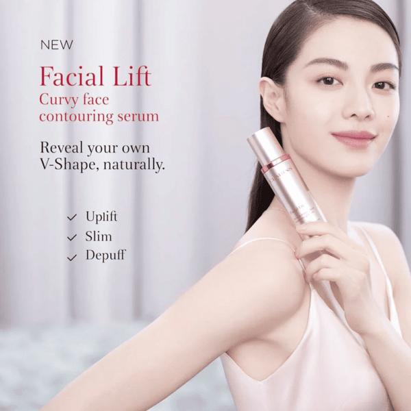 CLARINS Facial Lift Curvy Face Contouring Serum 100ml. คาแรง หน้าเรียว (4)