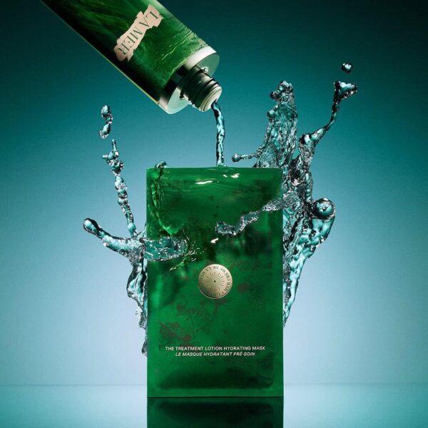 La Mer ลาแมร์ แผ่นมาส์กหน้า The Treatment Lotion Hydrating Mask (6 masks) (1)