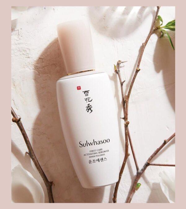 SULWHASOO โซลวาซู เซรั่ม First Care Activating Serum Inner Fullness 90 ml (3)