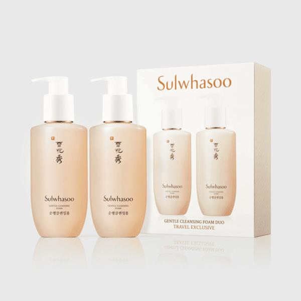 Sulwhasoo โซลวาซู คลีนซิ่งโฟม Gentle Cleansing Foam Duo (2 x 200 ml (1)