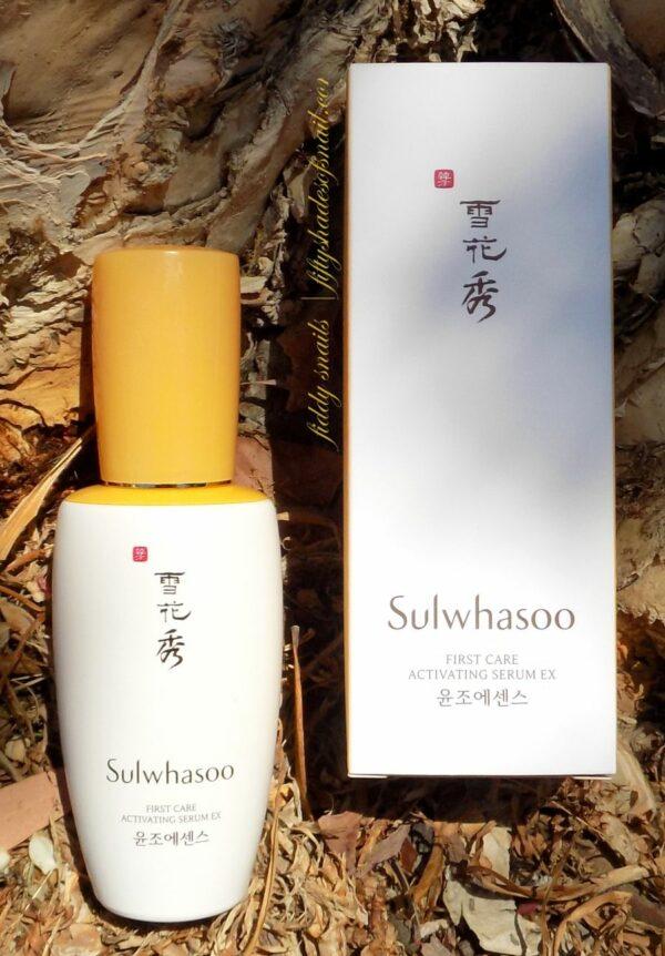 Sulwhasoo โซลวาซู เซรั่ม First Care Activating Serum Ex 120ml (1)