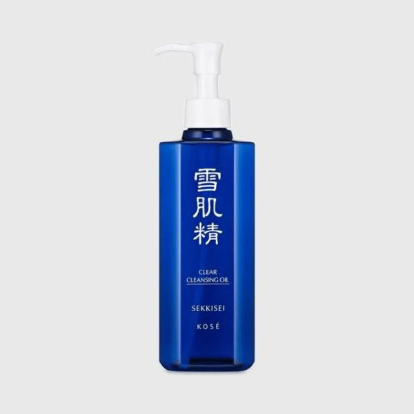 KOSÉ โคเซ่ คลีนซิ่งออยล์ Sekkisei Clear Cleansing Oil (250ml (1)