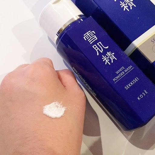 KOSÉ โคเซ่ ผงแป้งทำความสะอาดผิวหน้า Sekkisei White Powder Wash (100g (5)