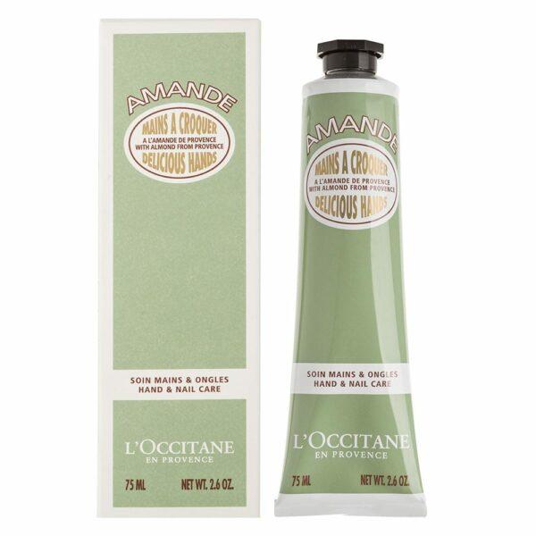 L'OCCITANE ล็อกซิทาน แฮนด์ครีม Almond Delicious Hands (75ml (1)