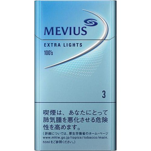 2412600012_MEVIUS EXTRA LIGHTS 3 100's [SLIM]
